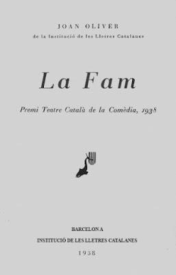 La Fam, de Joan Oliver