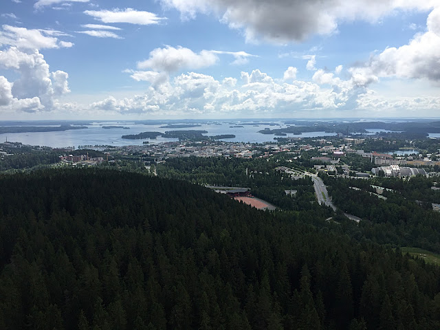 The Great Finnish Road Trip, Kuopio view, Puijo Tower Kuopio,