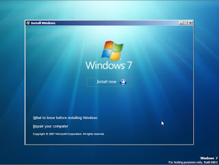 Cara Instal windows 7 lengkap dengan petunjuk gambar !!!! - KRESNAWAN ...