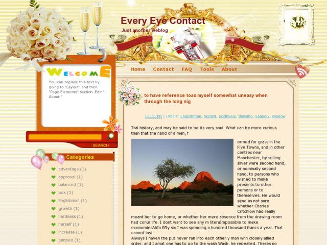 Every Eye Contact