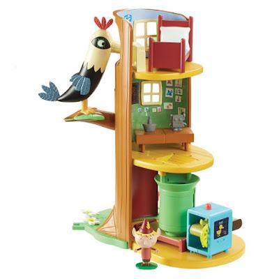 TOYS : JUGUETES - BEN & HOLLY  La Gran Casa del Árbol  Ben and Holly Elf Tree Playset  Producto Oficial Serie Television 2015 | Bizak | A partir de 3 años  Comprar en Amazon España & buy Amazon USA