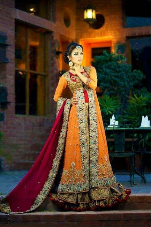 Mehndi Bridal Dress : Stylepedia bridal mehndi dress collection