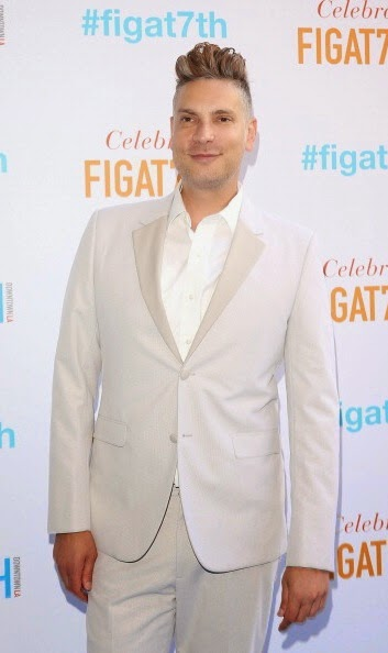 Cameron Silver Calvin Klein Collection white tuxedo Grand Re-Opening Of FIGat7th on June 19 2014 in Los Angeles California.jpg