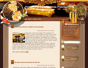 Luxury yet Cordial Hong Kong Blogger Templates