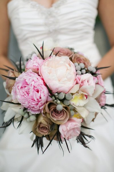 wedding, summer bouquets