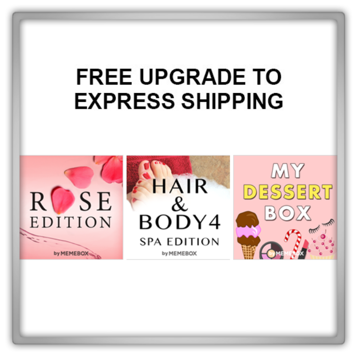 Memebox Special #47 My Dessert Box #28 Rose Edition #49 Hair & Body 4 Spa Edition valueset 미미박스 Commercial