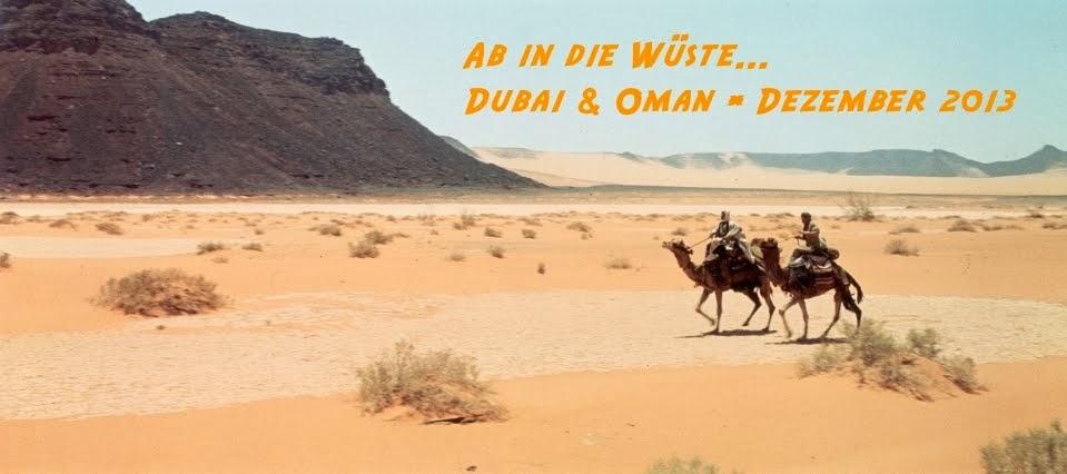 Ab in die Wüste... Oman und Dubai 2013