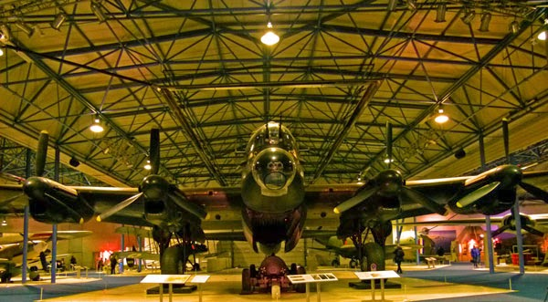 Avro Lancaster, RAF Museum, Hendon, S-Sugar, visit Britain