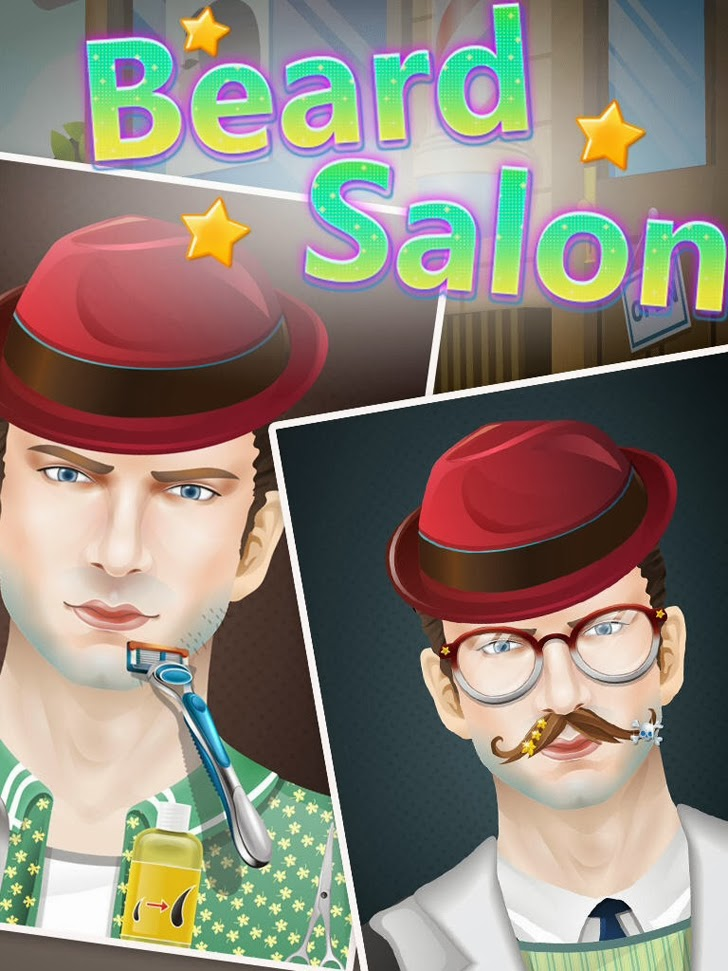 Beard Salon - Free Games App iTunes App By George CL - FreeApps.ws