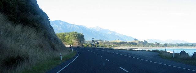 Kaikoura, road