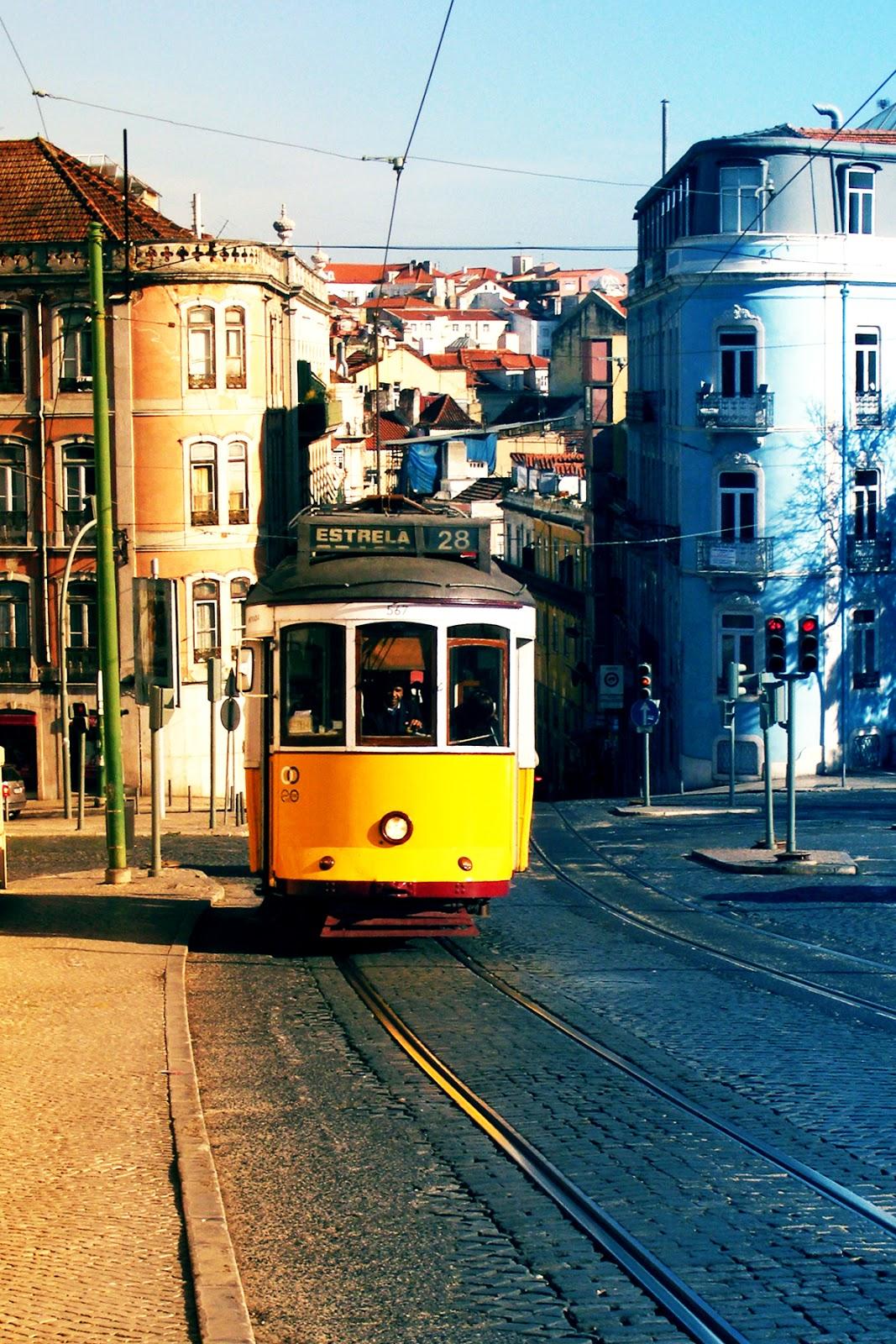 Tram Estrella 28, Lisbon, Portugal