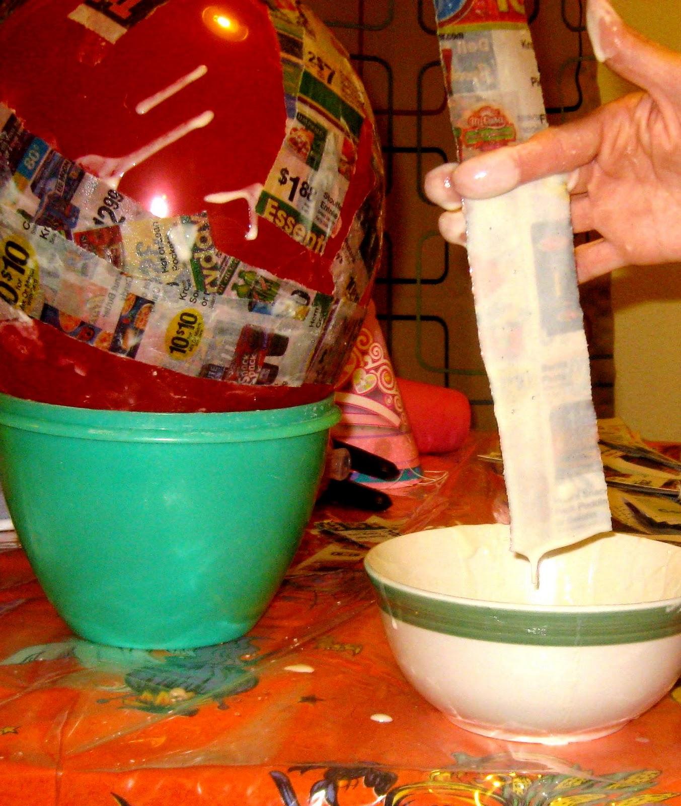 how to make a piñata preschool powol packets