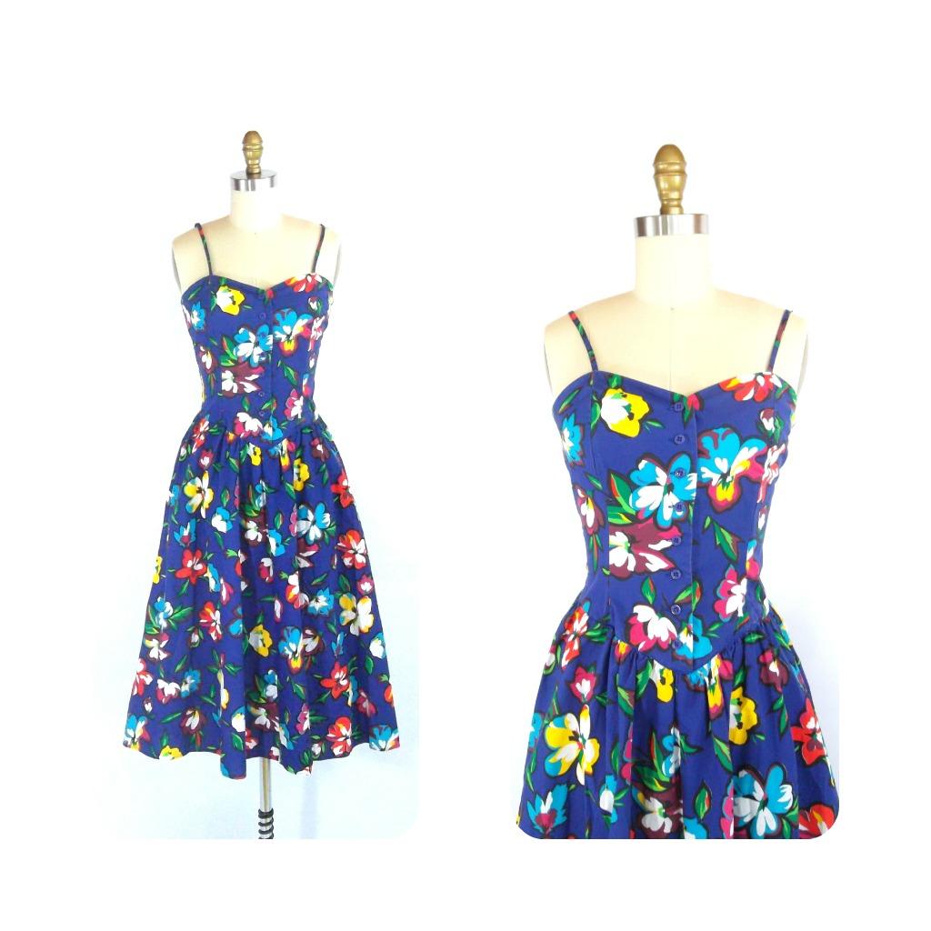 foxburrow vintage spring sun dress