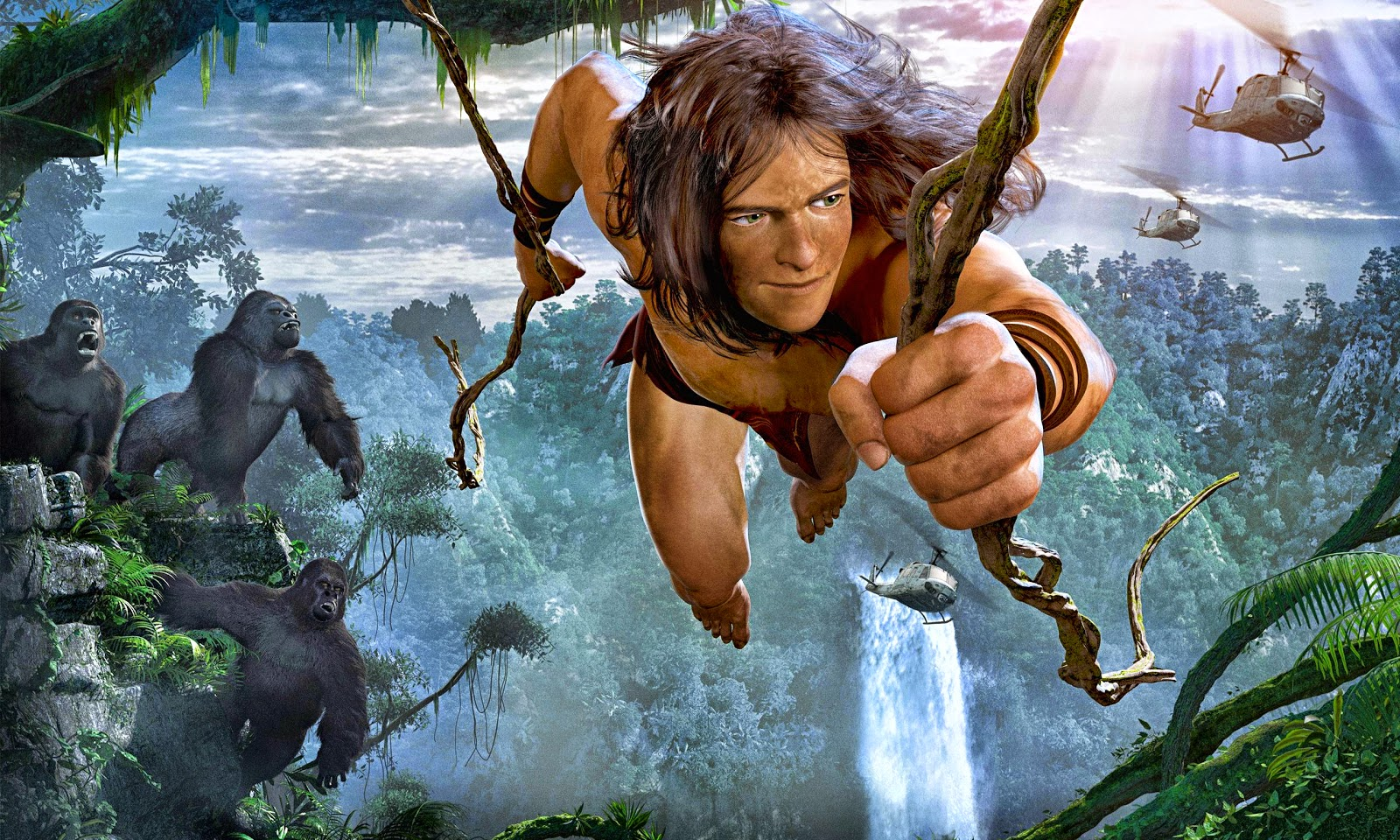 tarzan online dating Tarzan's world collides with the arrival of humans, forcing tarzan to choose between the beautiful jane and his gorilla family.