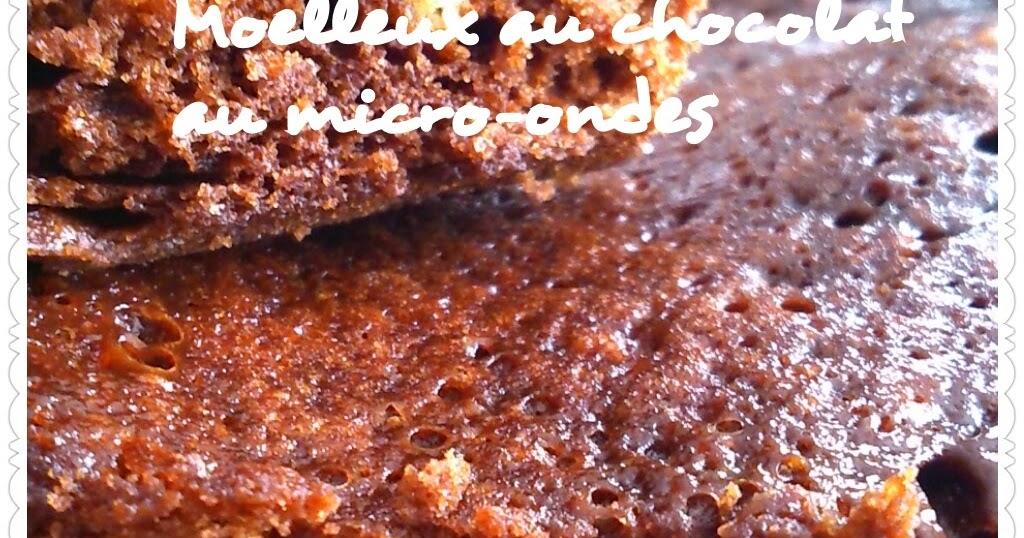 Recettes l g res et gourmandes de marie laure moelleux au for Moelleux chocolat micro ondes