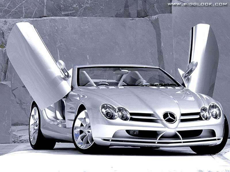 Mclaren Car Coloring Pages : Girl and car style: mercedes slr mclaren with beautiful girls on car