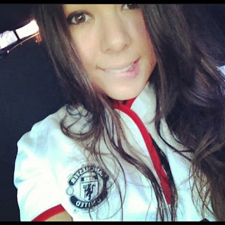 Manchester United Girl from Brasil