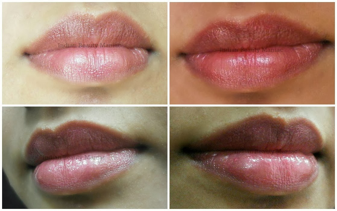 L'oréal Rouge Caresse lipstick in 06 APHRODITE SCARLET on my lips