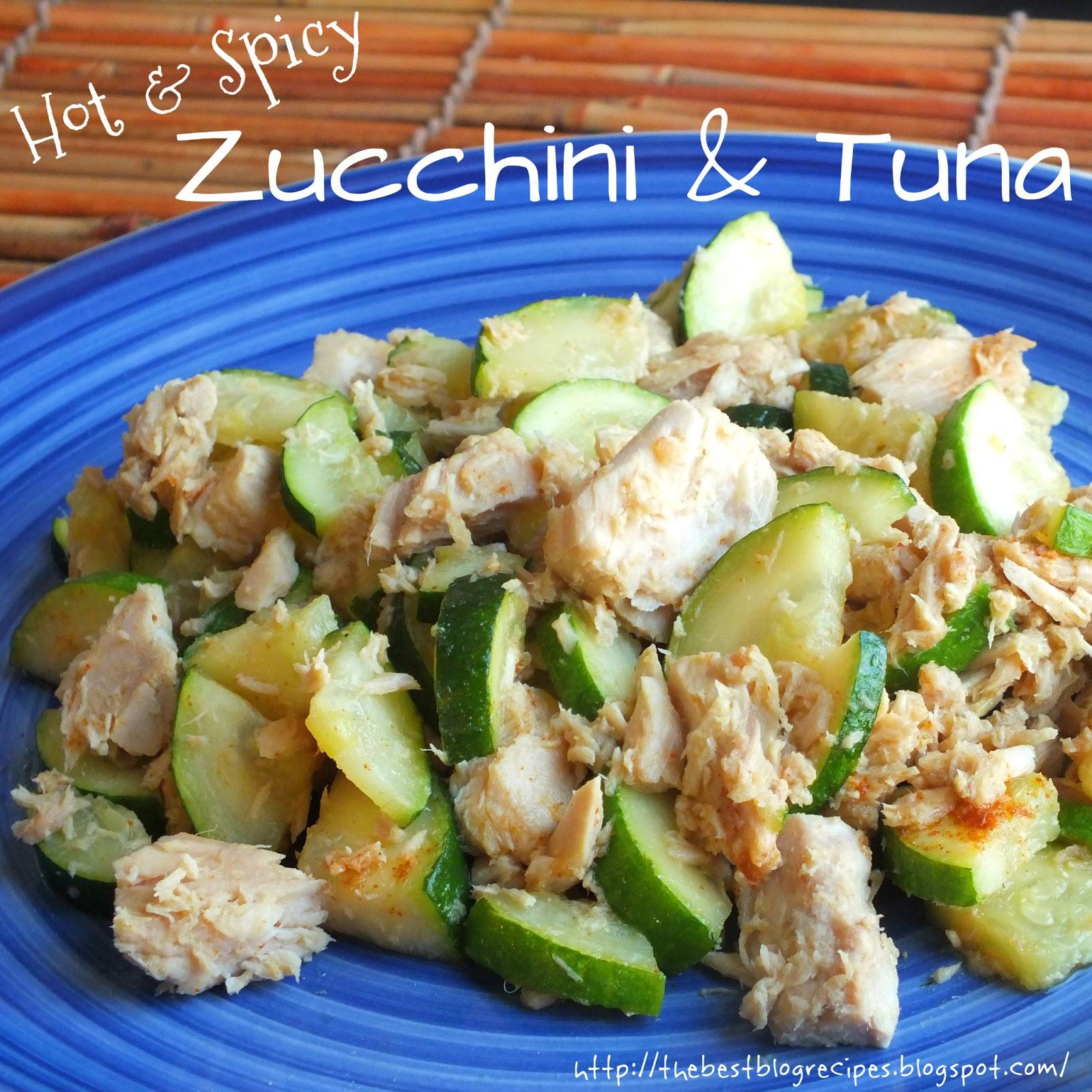 Healthy Zucchini & Tuna recipe from {The Best Blog Recies}