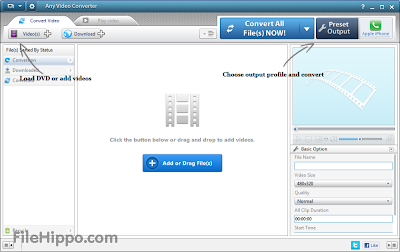 Any Video Converter 5.0.8 Free Download