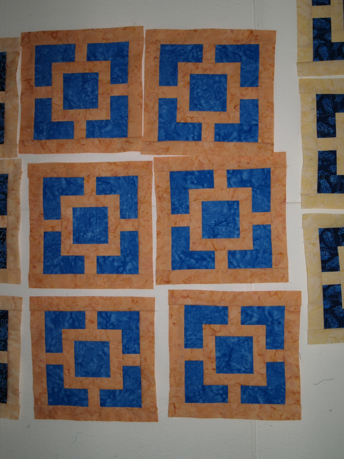 My Corner Quilts Monday Morning Design Wall 7 15 2013