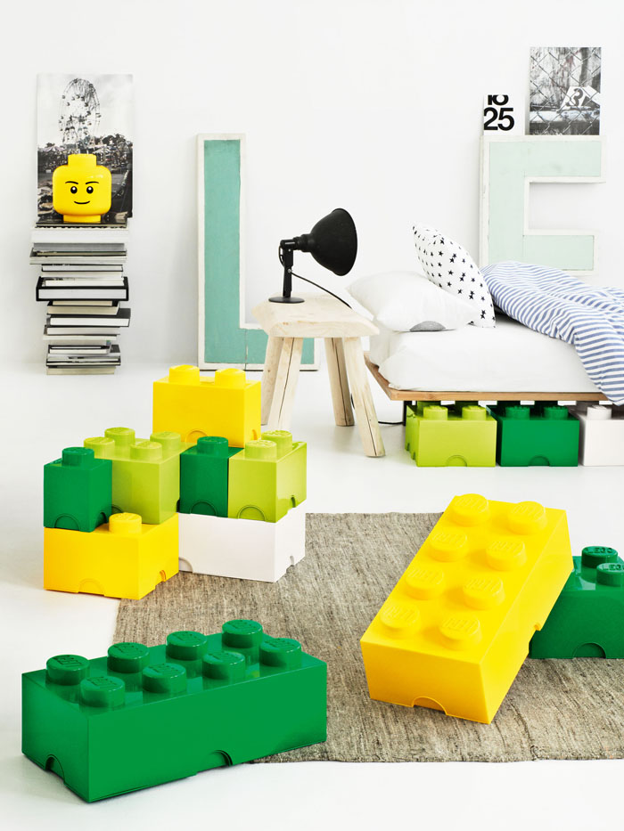 LEGO storage boxes for children room