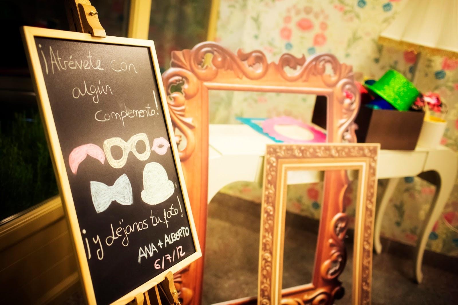 Marcos para fotos marcos para photocall for Photocall boda vintage