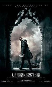 "Plakat ""I, Frankenstein"" i inne z ""plecami bohatera"""