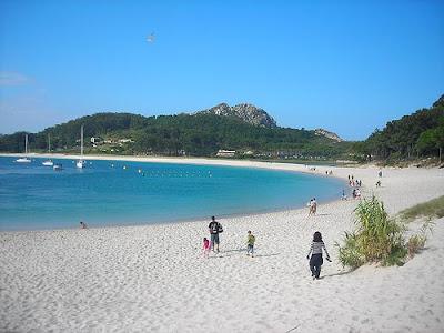 Islas Cíes playas preciosas