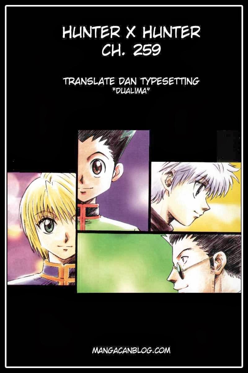 Dilarang COPAS - situs resmi www.mangacanblog.com - Komik hunter x hunter 259 - 1-3 260 Indonesia hunter x hunter 259 - 1-3 Terbaru |Baca Manga Komik Indonesia|Mangacan