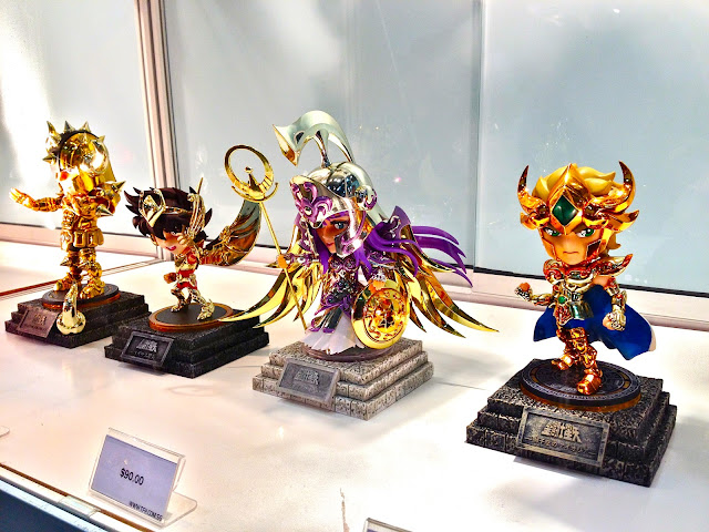 Saint Seiya: Knights of the Zodiac miniatures Singapore Toy Game and Comic Convention
