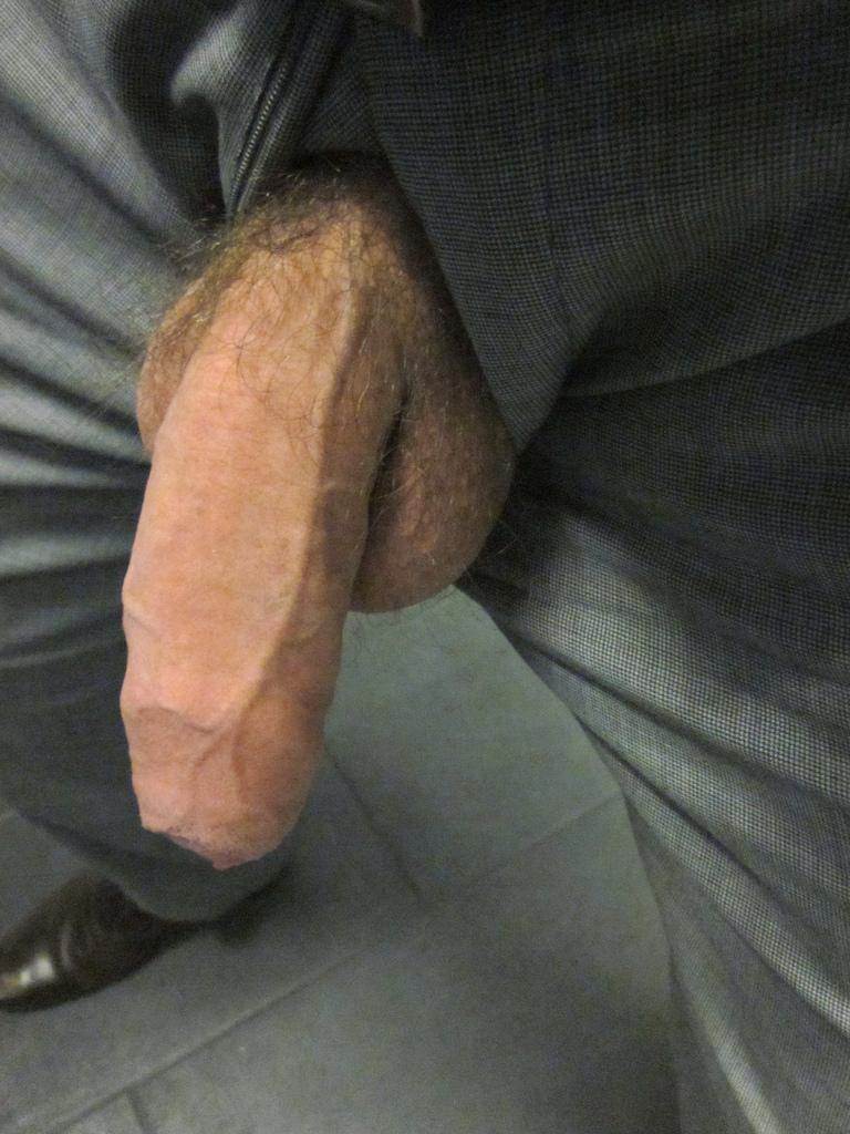 Dads huge cock