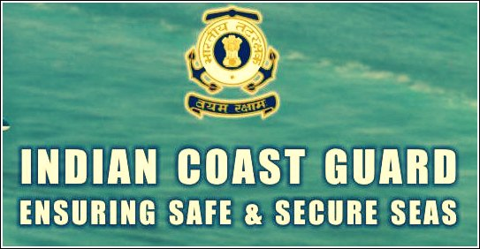 Indian coast guard notification 2013