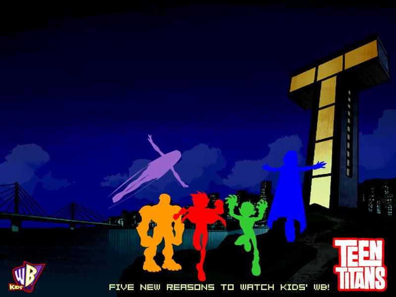 Wallpaper Sea Teen Titans Hd