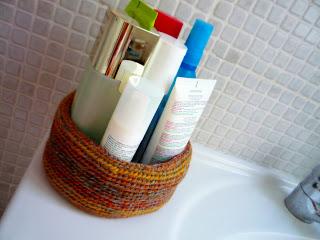 Cesta de spa a crochet - Ahuyama Crochet