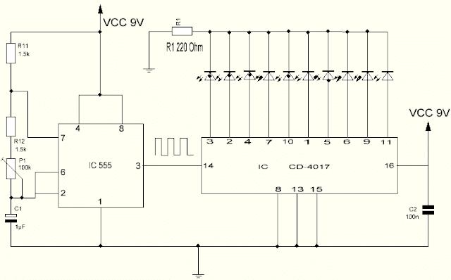 Modo secuenciador para el CD4017