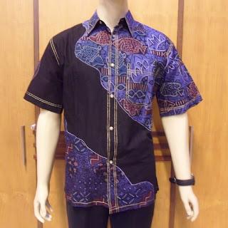 Foto Baju Batik Cowok Modern