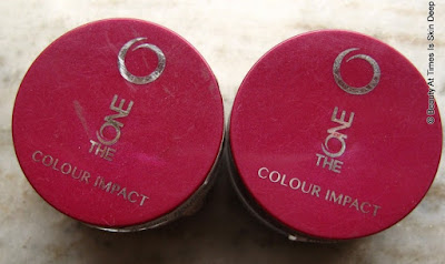 Oriflame the ONE Color Impact Cream Eye Shadow: Rose Gold and Golden Brown