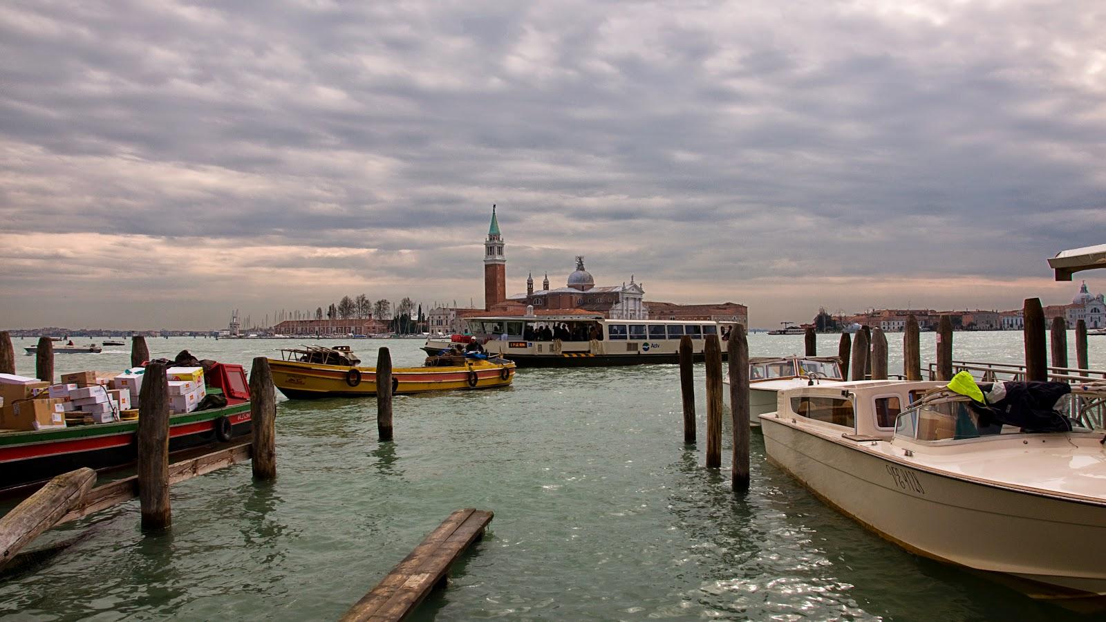 Venice Grand Canal - View to San Giorgio Maggiore