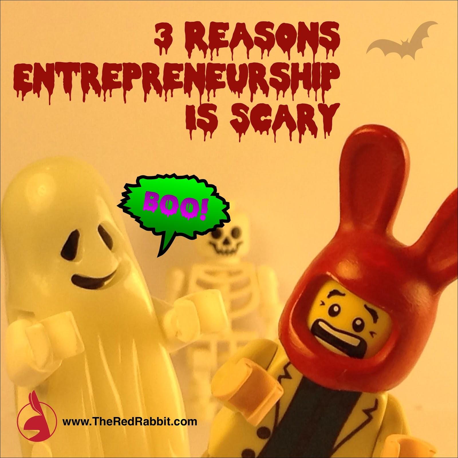 Boo! Entrepreneurship Sacred You