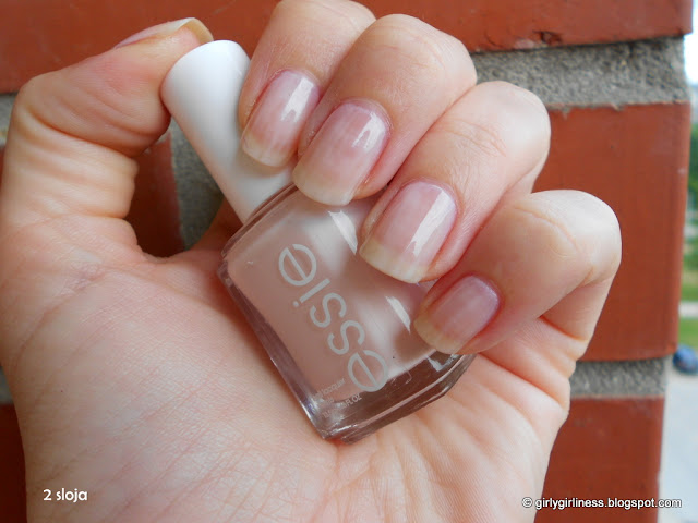 essie ballet slippers two layers