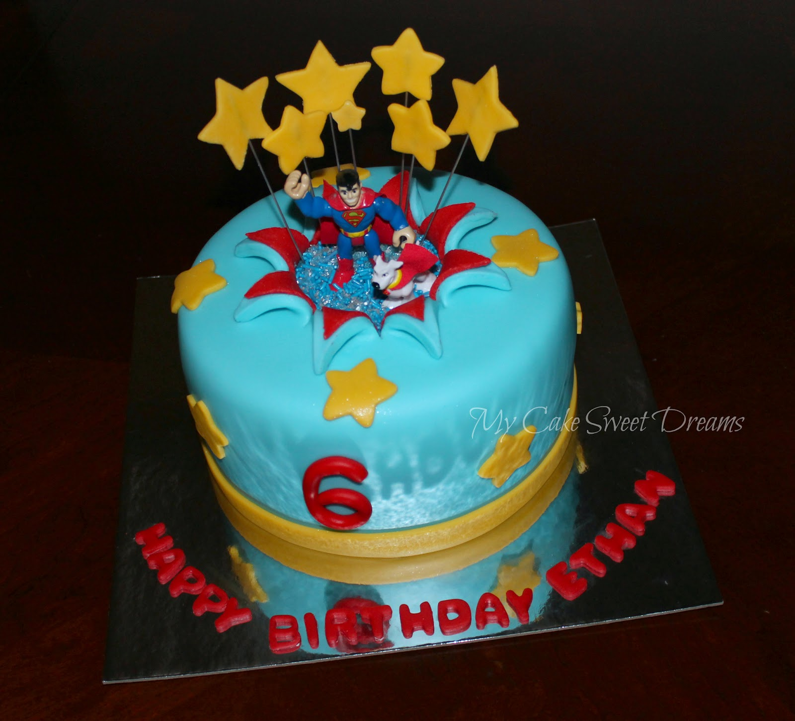 Cake Images Superman :