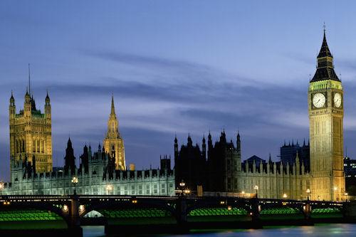Palacio de Westminster en el Reino Unido - Palace