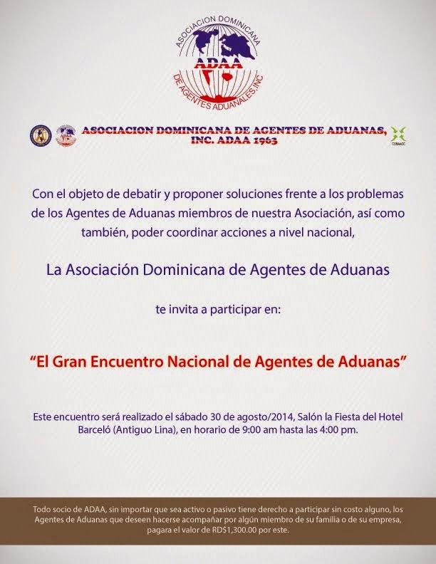 Encuentro Agente Aduanero