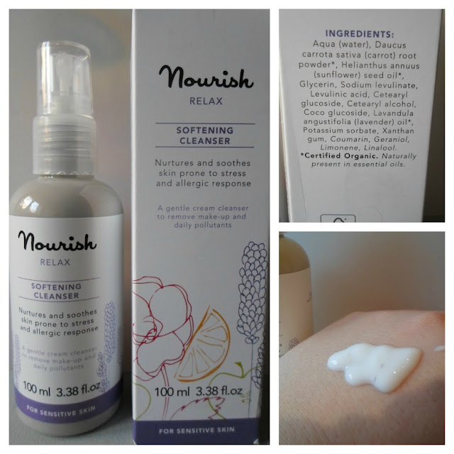 Nourish Relax Softening Cleanser