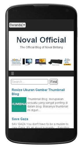 Purnama Responsive Blogger Template