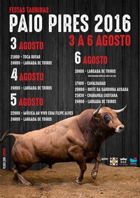 Paio Pires(Seixal)- Festas Taurinas 2016- 3 a 6 Agosto