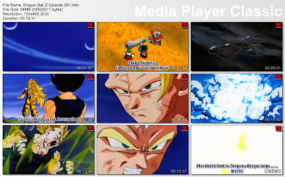 Film / Anime Dragon Ball Z Majin Buu Saga Episode 281 Bahasa Indonesia