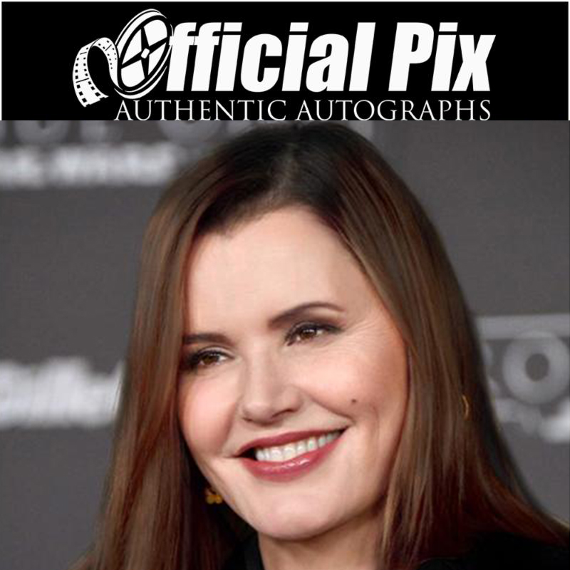 Official Pix Geena Davis Private Signing! Deadline July 2