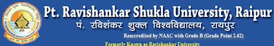 Pt. Ravishankar Shukla University Ph.D. Results - 2013